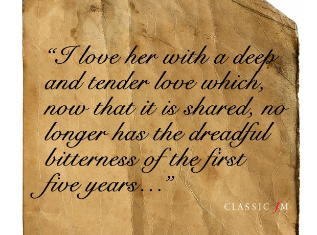 HeartBreaking Quotations From The Great Composers Love Letters