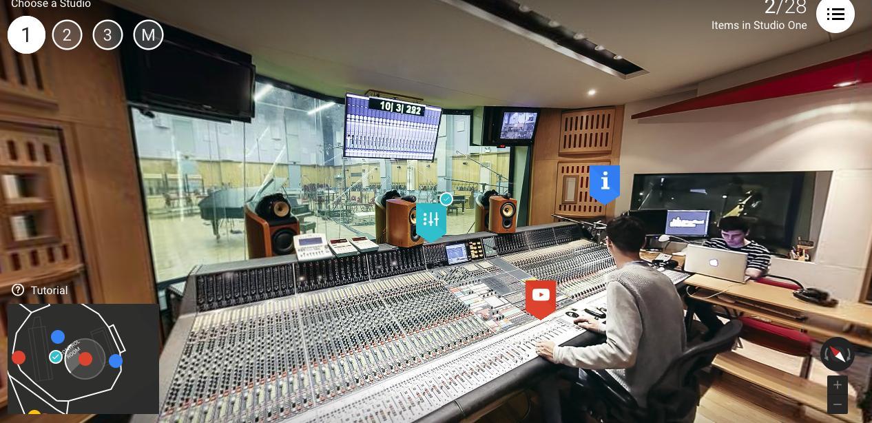 Inside Abbey Road Studios