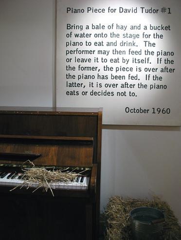 La Monte Young piano
