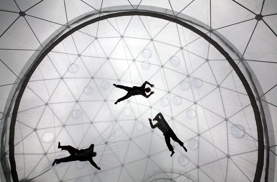 Southbank centre London Hayward Gallery Saraceno Psycho Buildings