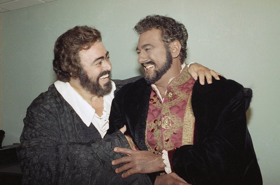 Pavarotti and Domingo - a deep, musical friendship - Luciano ...