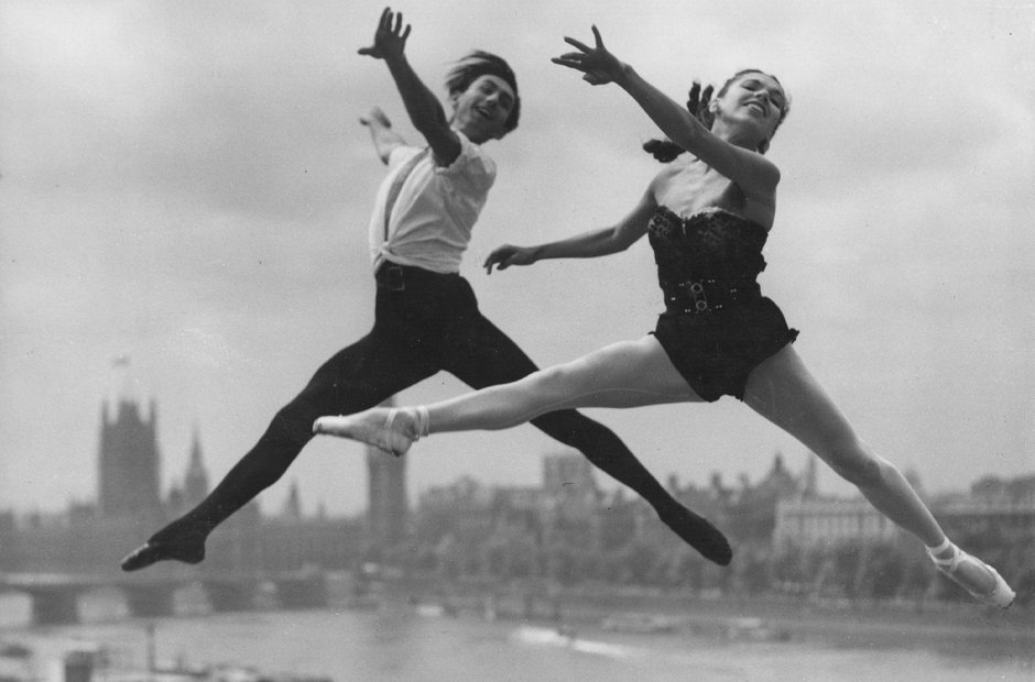 Southbank Centre London Festival Ballet 1952 Big Ben