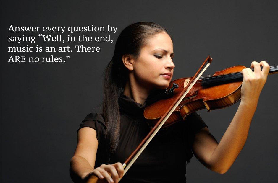 music audition advice