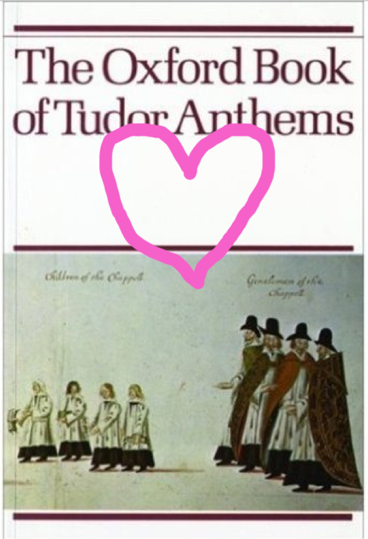 Tudor Anthems book