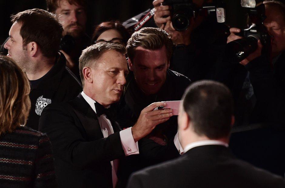 Spectre Royal Premiere
