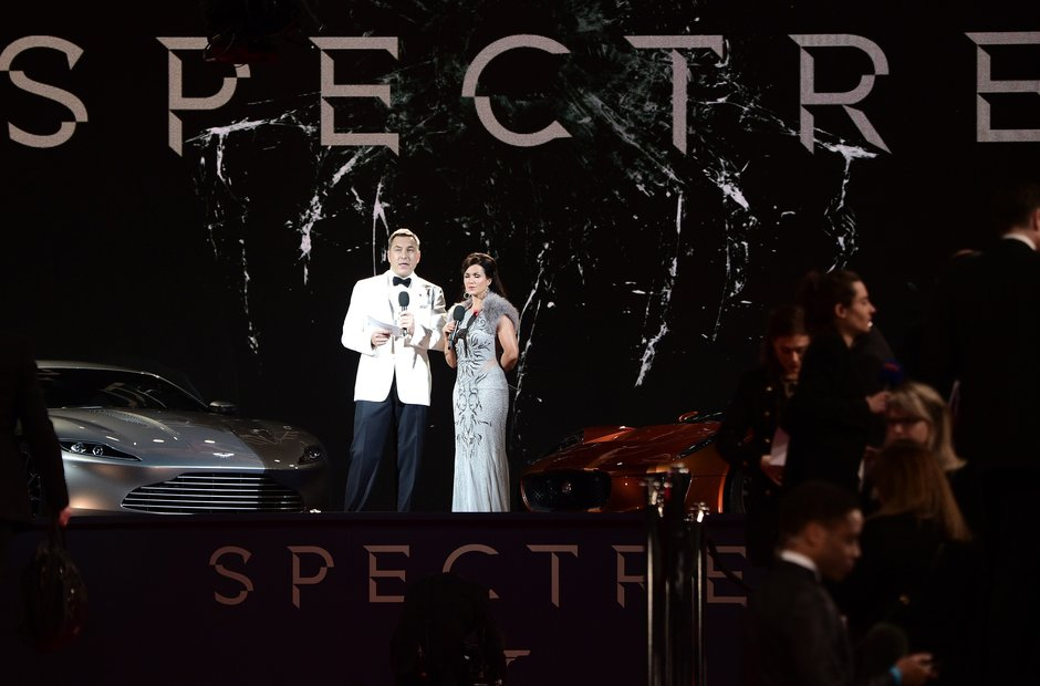 Spectre Royal Premiere