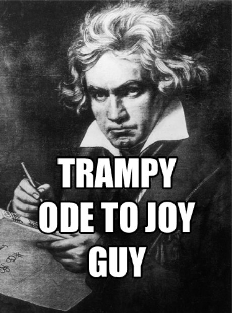 beethoven tramp