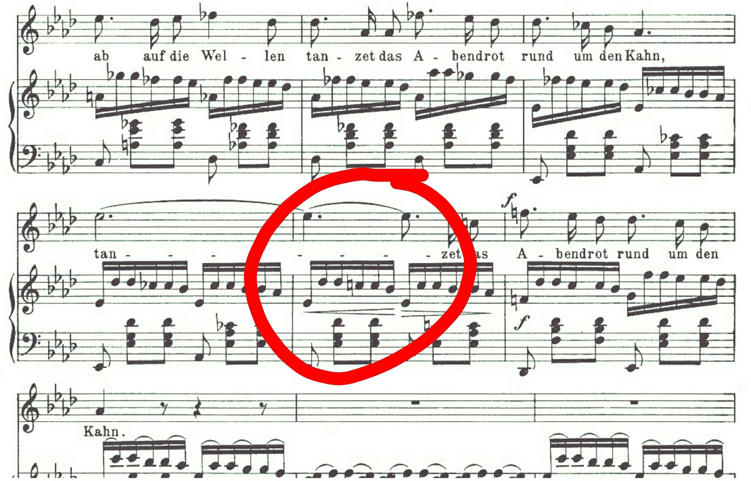 Schubert score