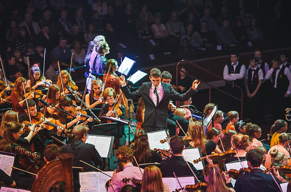Cornwall Youth Orchestra with Northamptonshire Jun
