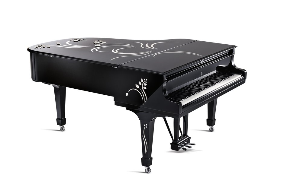 Steinway Lalique Heliconia piano