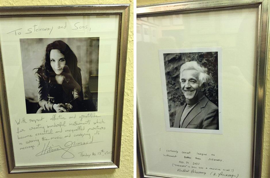 Vladimir Ashkenazy and Helene Grimaud Steinway