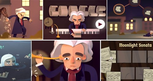 google celebrates beethoven s 245th birthday with an interactive