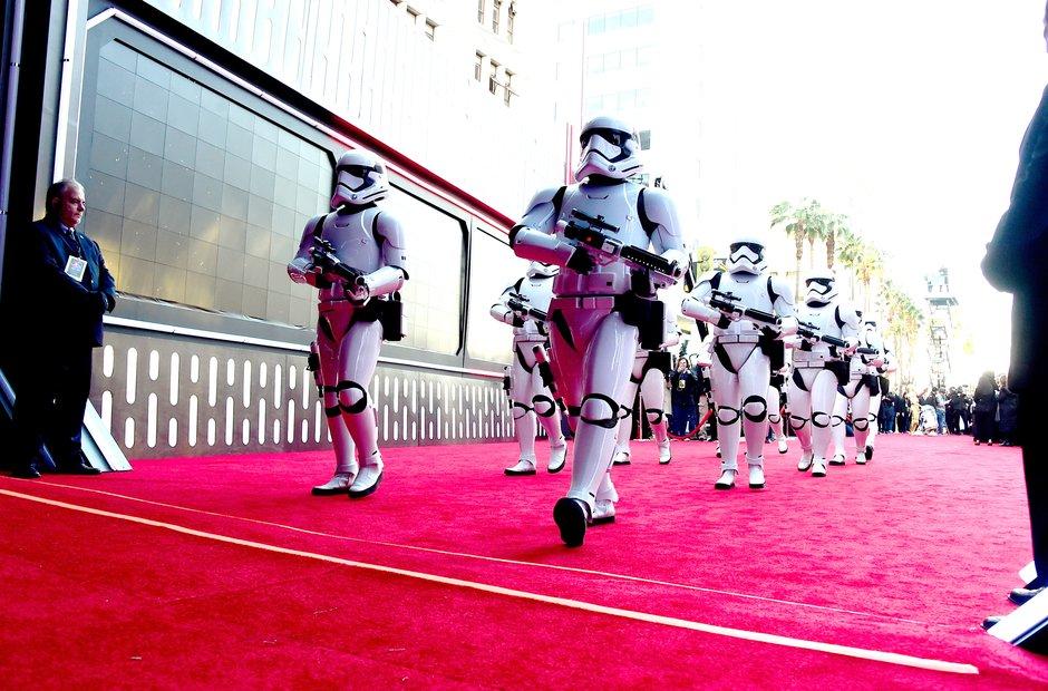 Star Wars: The Force Awakens - world premiere