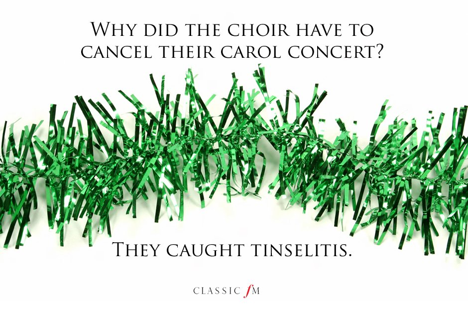 10 truly awful Christmas jokes for music lovers - Classic FM