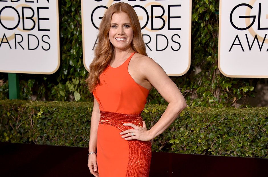 Amy Adams Golden Globe Awards 2016