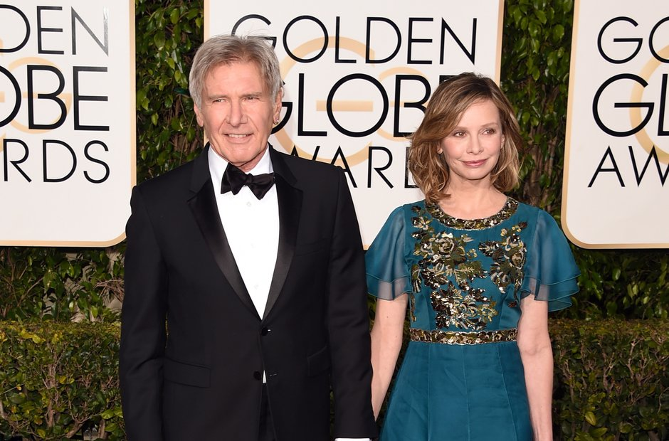 Harrison Ford and Calista Flockhart Golden Globe A