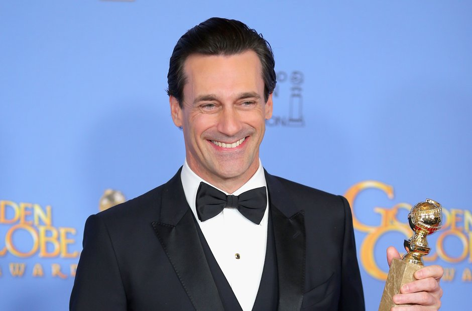 Jon Hamm at the Golden Globe Awards 2016