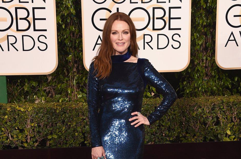 Julianne Moore Golden Globe Awards 2016