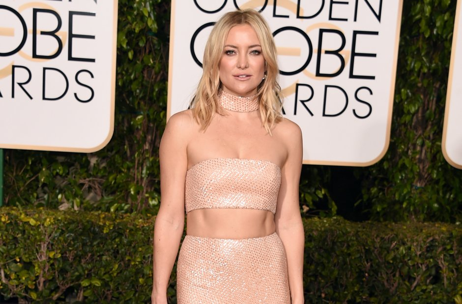 Kate Hudson Golden Globe Awards 2016