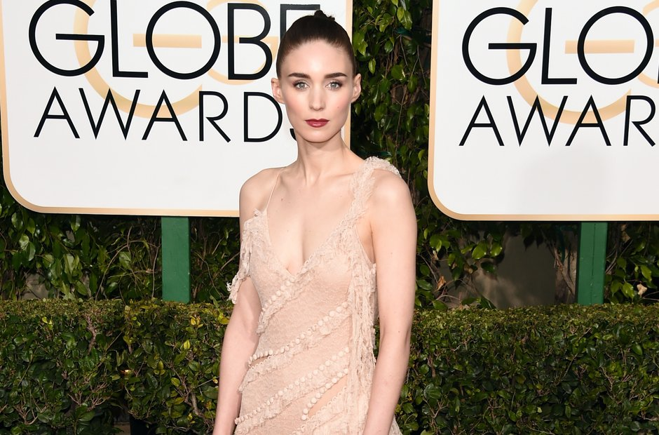 Rooney Mara at the Golden Globe Awards 2016