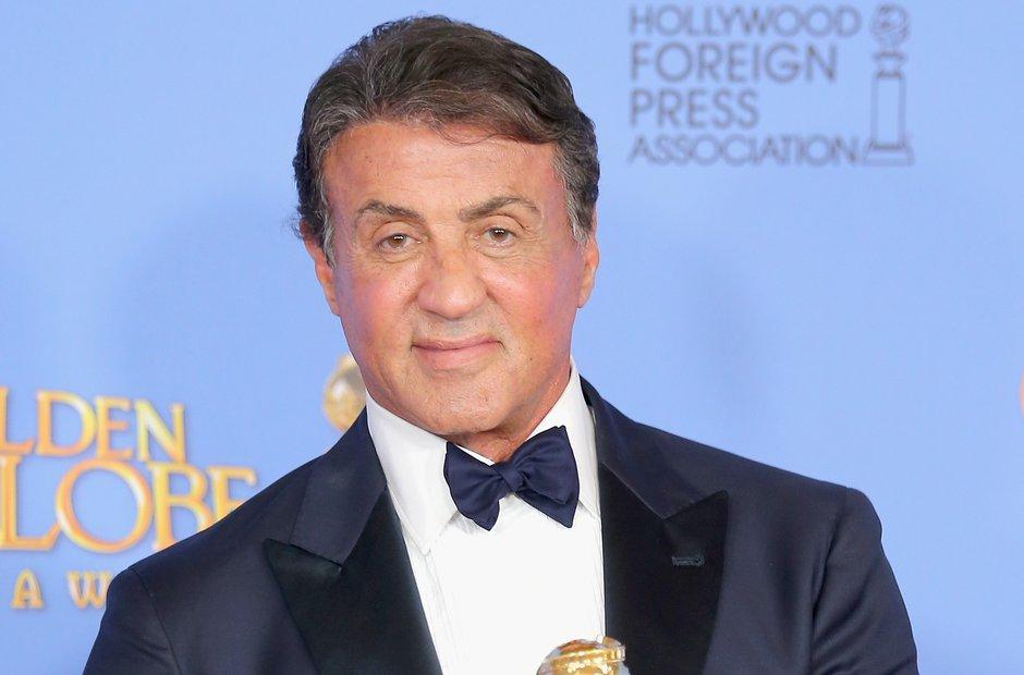 Sylvester Stallone Golden Globe Awards 2016