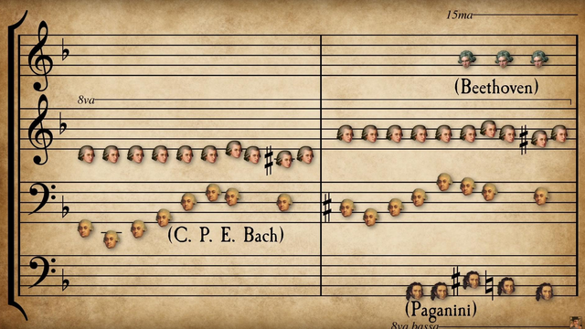 The genius mashup of 56 melodies from 33 classical composers that ACTUALLY works