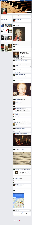 Mozart Facebook Page 2016