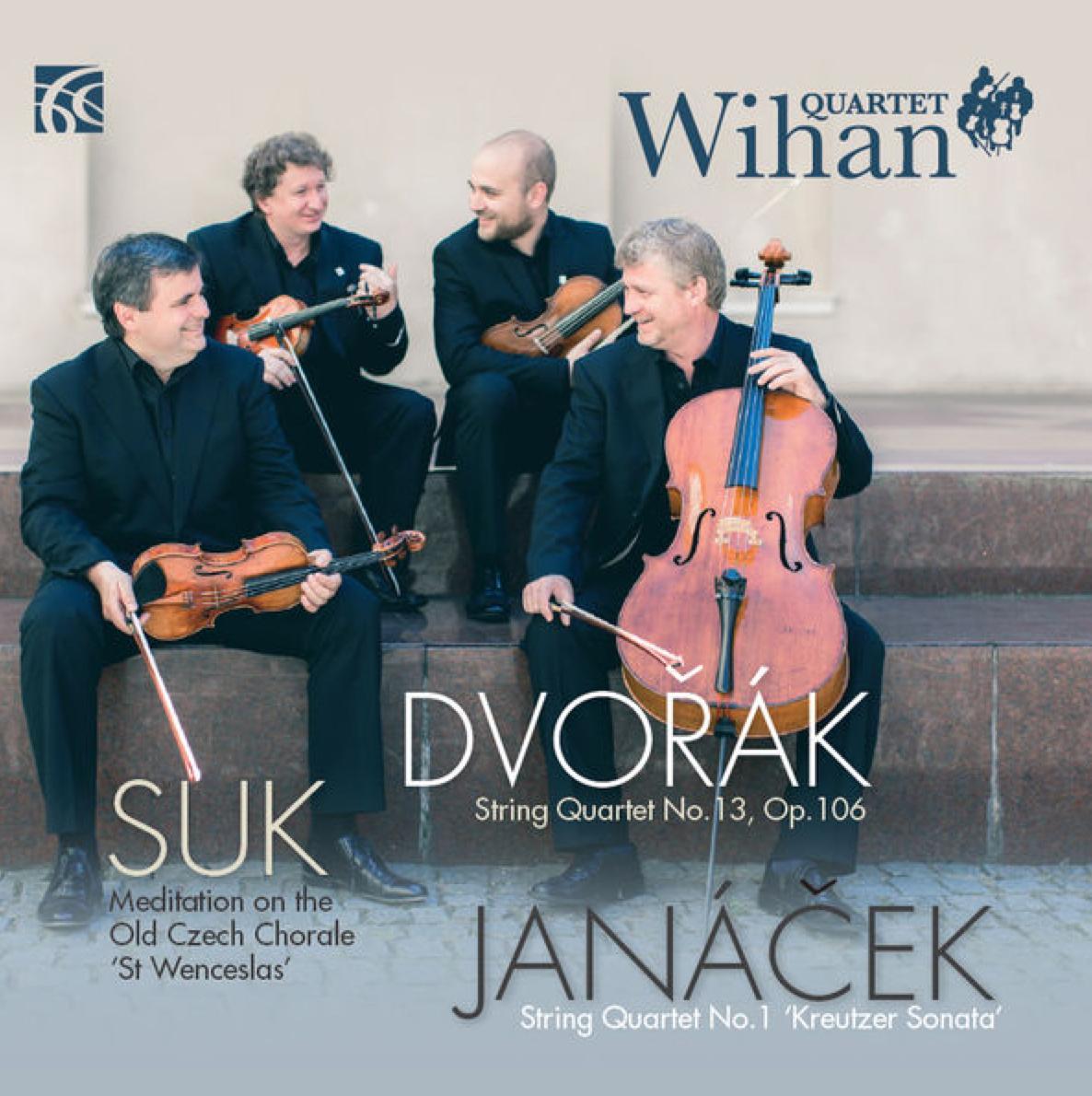 Wihan String Quartet Janacek Dvorak Suk