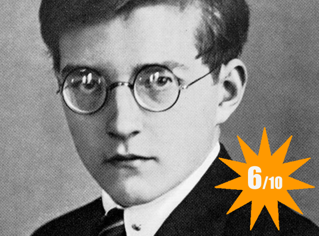 Blue steel Shostakovich