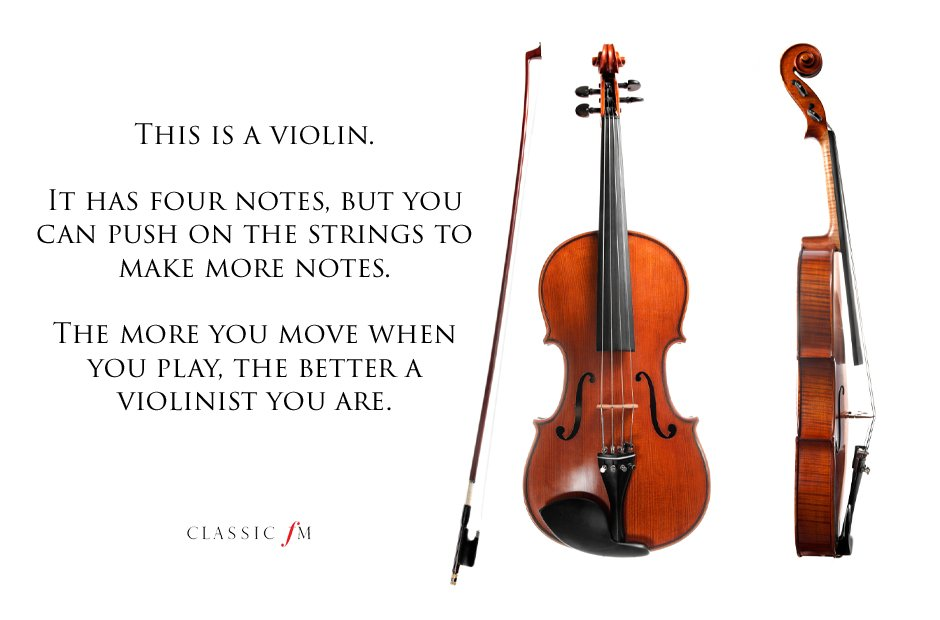 violin Musical instruments explained: a beginner's