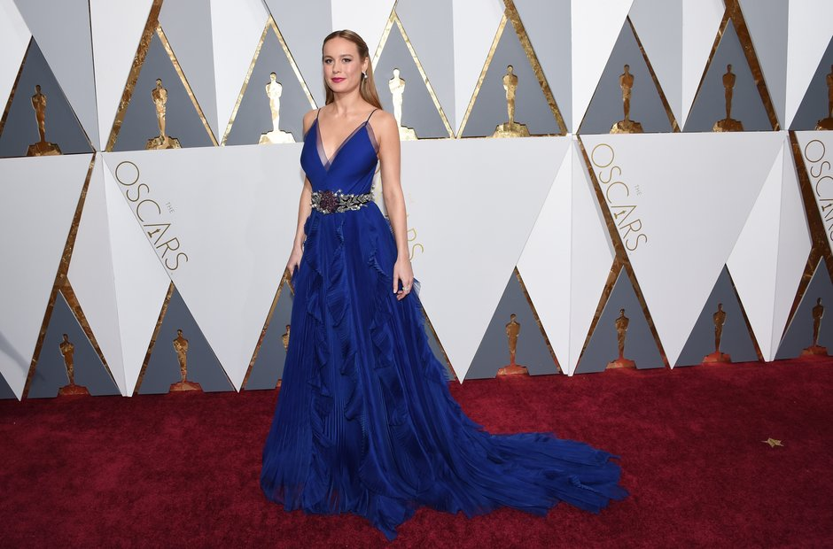 Brie Larson at the Oscars 2016