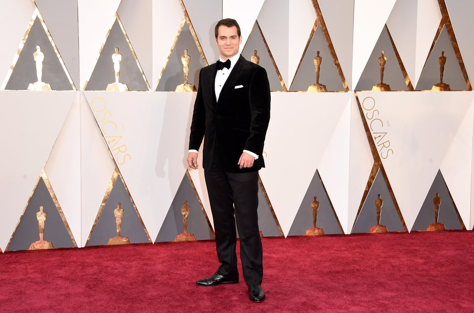 Henry Cavill  at the Oscars 2016
