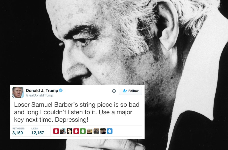 Donald Trump's tweets on classical music - Classic FM
