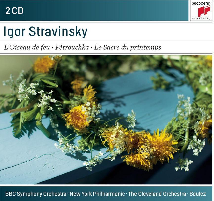 Stravinsky ballets Pierre Boulez