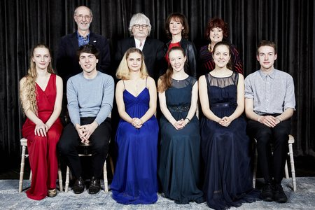 Arts Club-Karl Jenkins Award - group shot