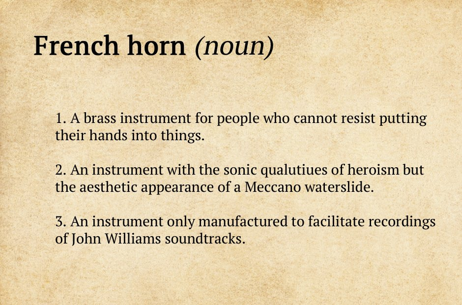 Dictionary Definitions Of Musicians: Your Guide To The Orchestra   Classic  FM