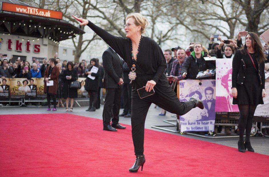 Florence Foster Jenkins premiere Meryl Streep