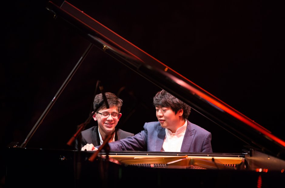 Lang Lang educational project at the Royal Albert