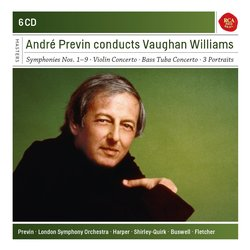 Andre Previn conducts Vaughan Williams