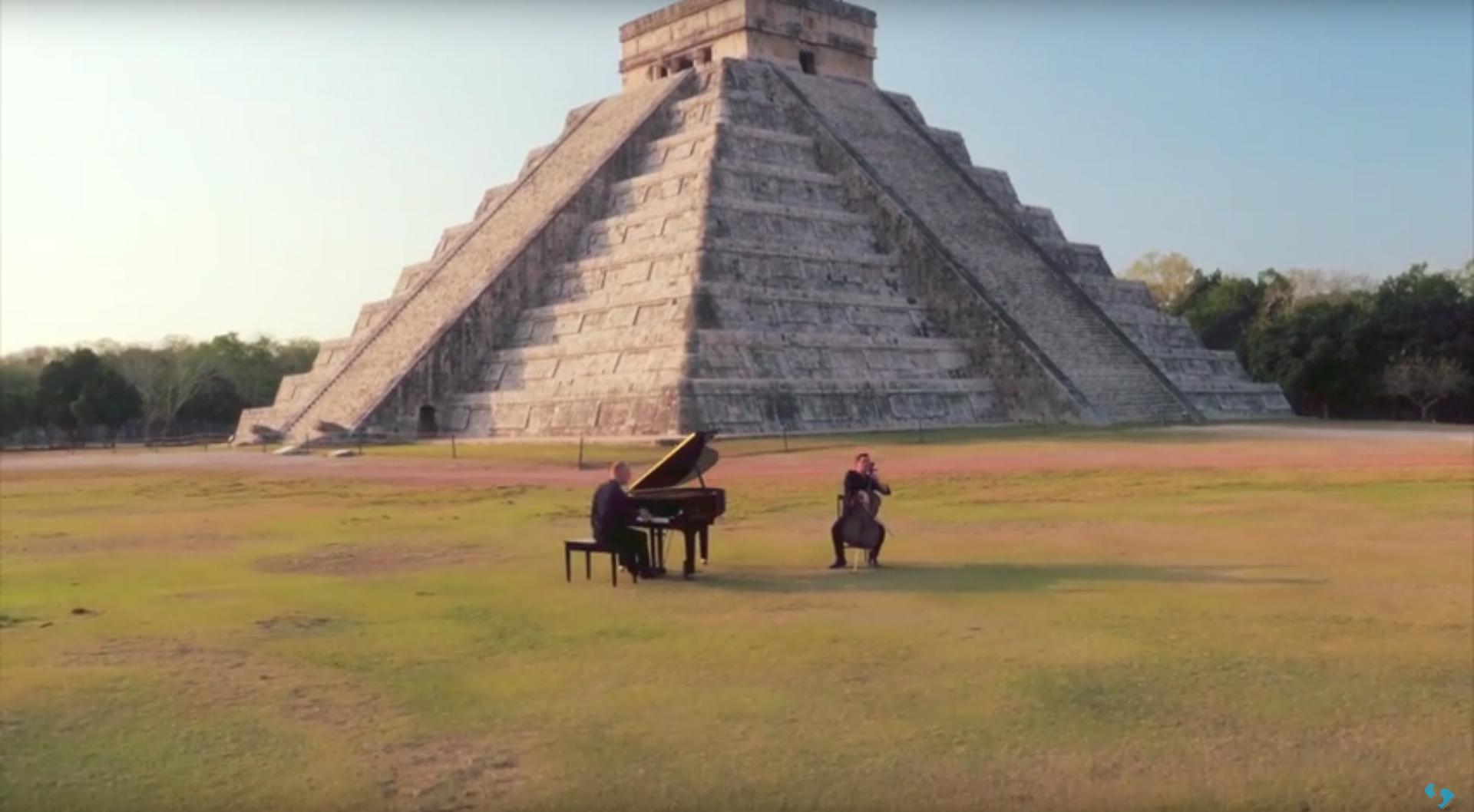 The Piano Guys Jungle Book Maya video Chichén Itzá
