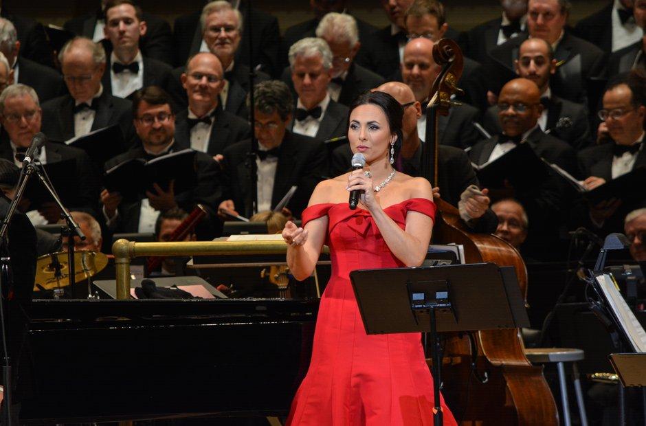 Carnegie Hall 125 birthday gala Isabel Leonard