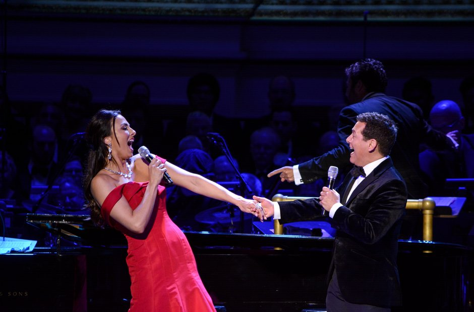 Carnegie Hall 125 birthday gala Michael Feinstein Isabel Leonard