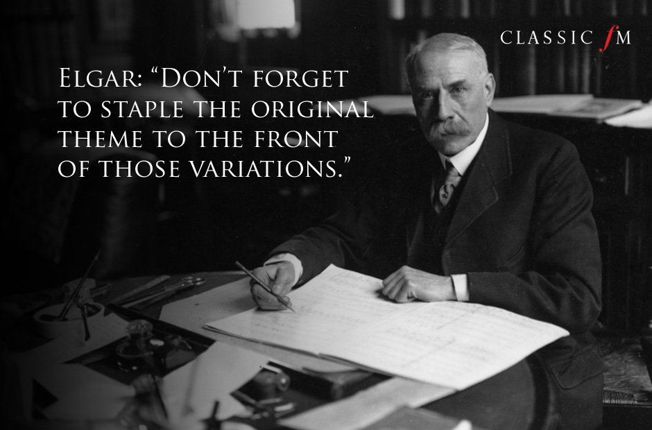Great composers advice Elgar