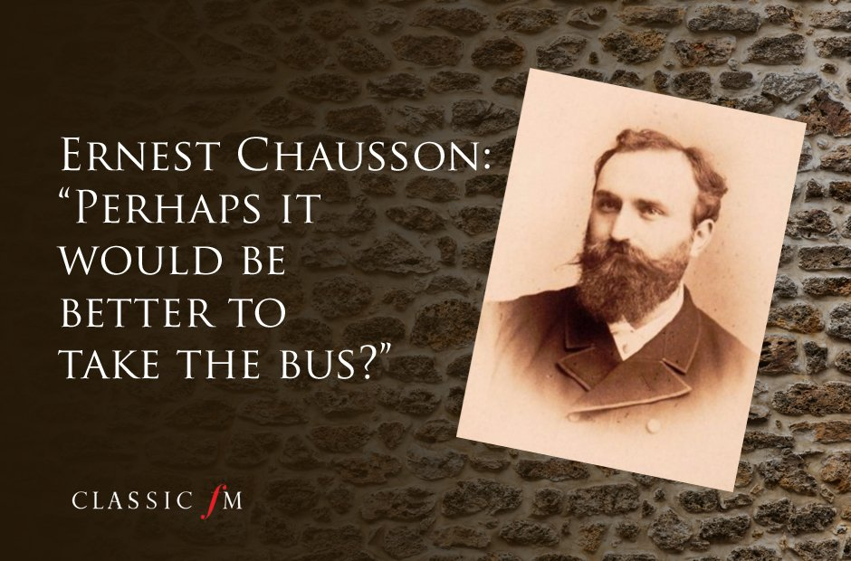 Great composers advice Chausson