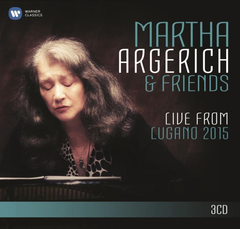 Martha Argerich and Friends Lugano 2015