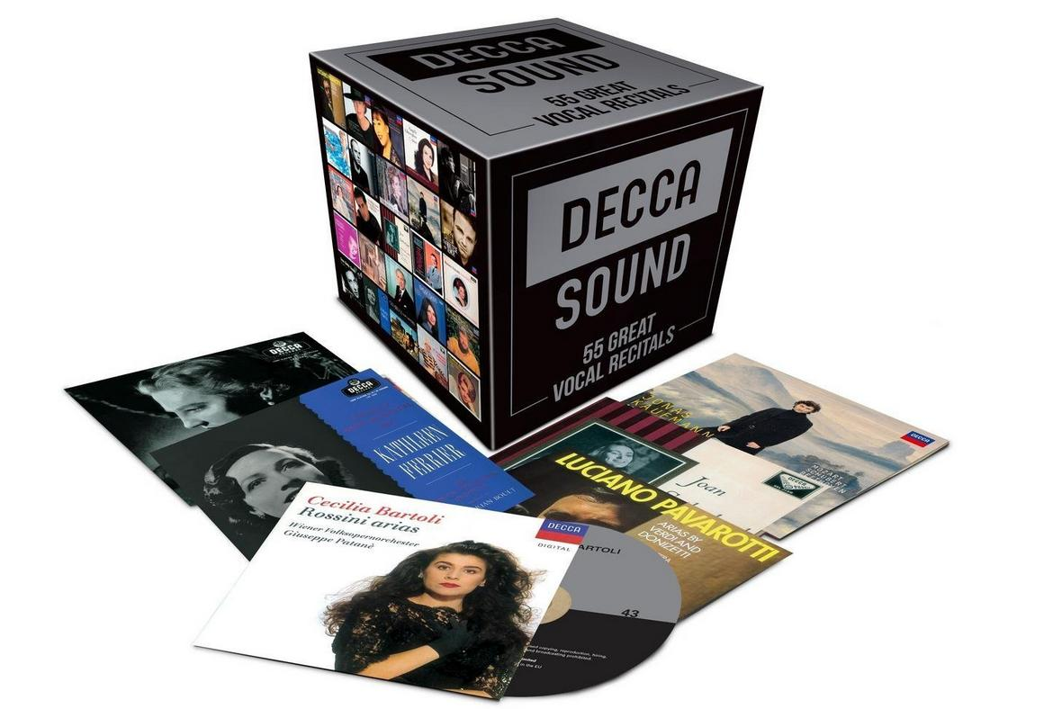 Decca Sound 55 Great Vocal Recitals