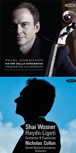 Haydn Cello Piano concertos Onyx
