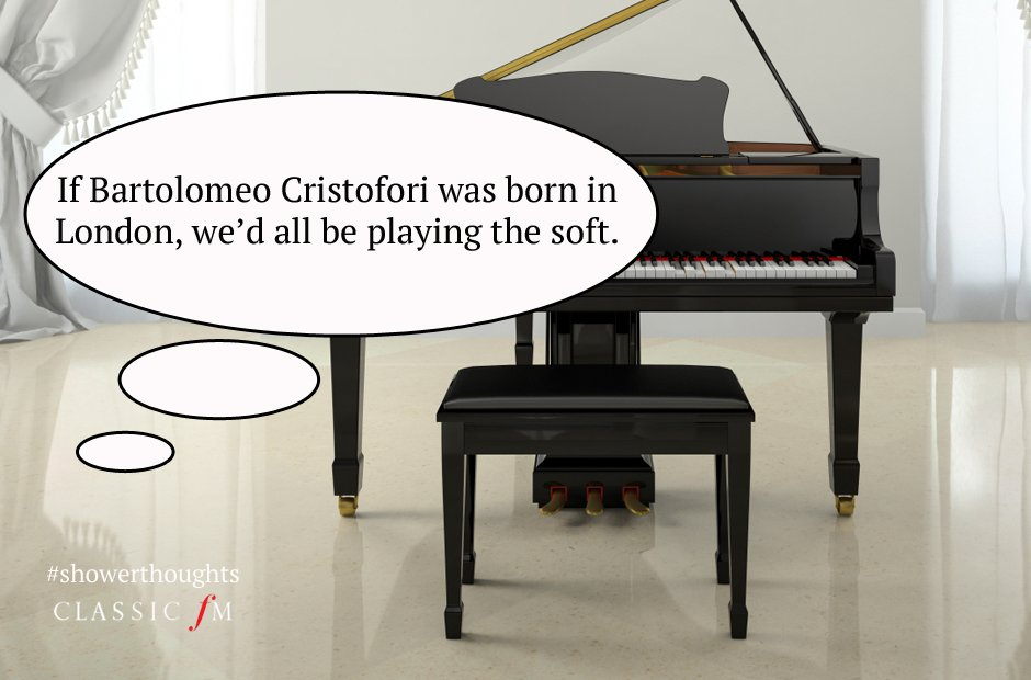 classical music shower thoughts
