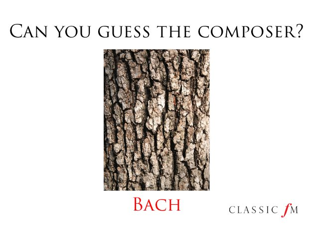 The answer is… - Can you solve these fiendish composer