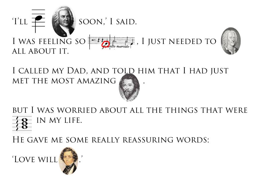music pun story